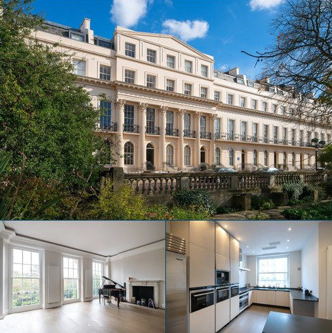 5 bedroom terraced house for sale - Chester Terrace, Regent's Park, London, NW1