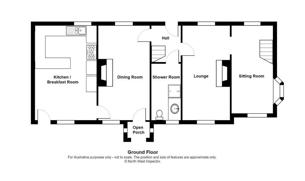 Floorplan 1 of 3: Rose Cottage  ...