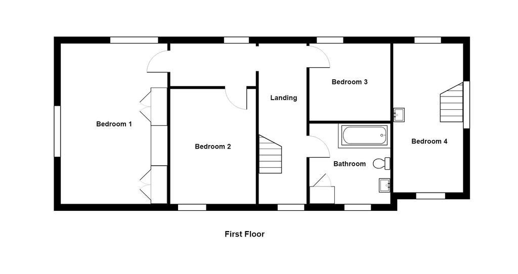 Floorplan 2 of 3: Rose Cottage  ...