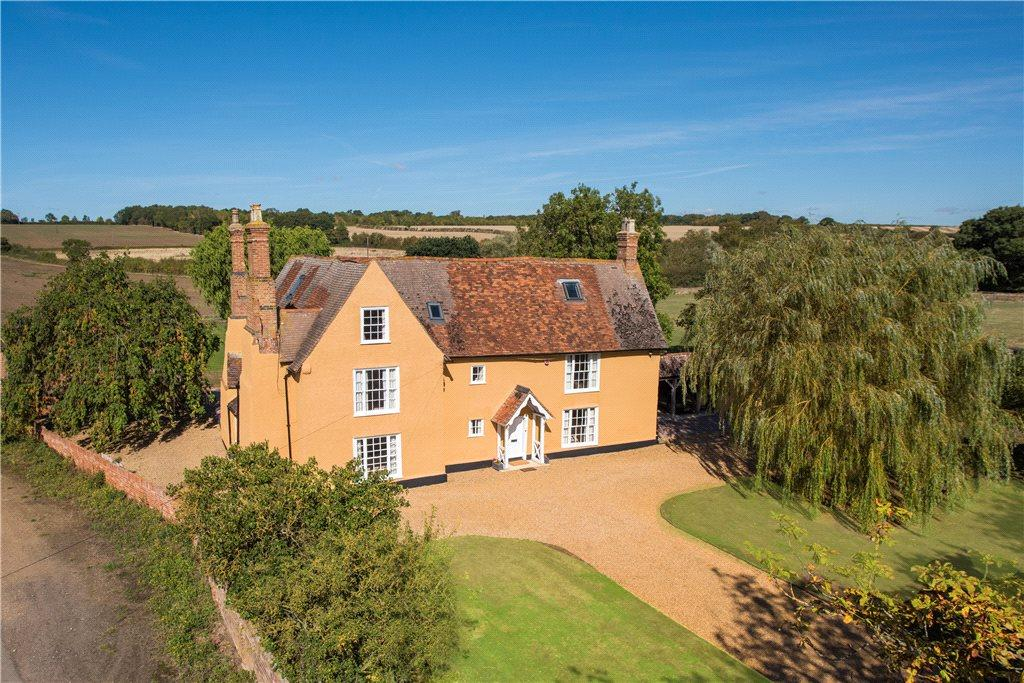 A Grade II Listed Six/seven Bedroom Detached Former Farmhouse In Approx.  3.1 Acres Of Gardens, For Sale With No Upper Chain.