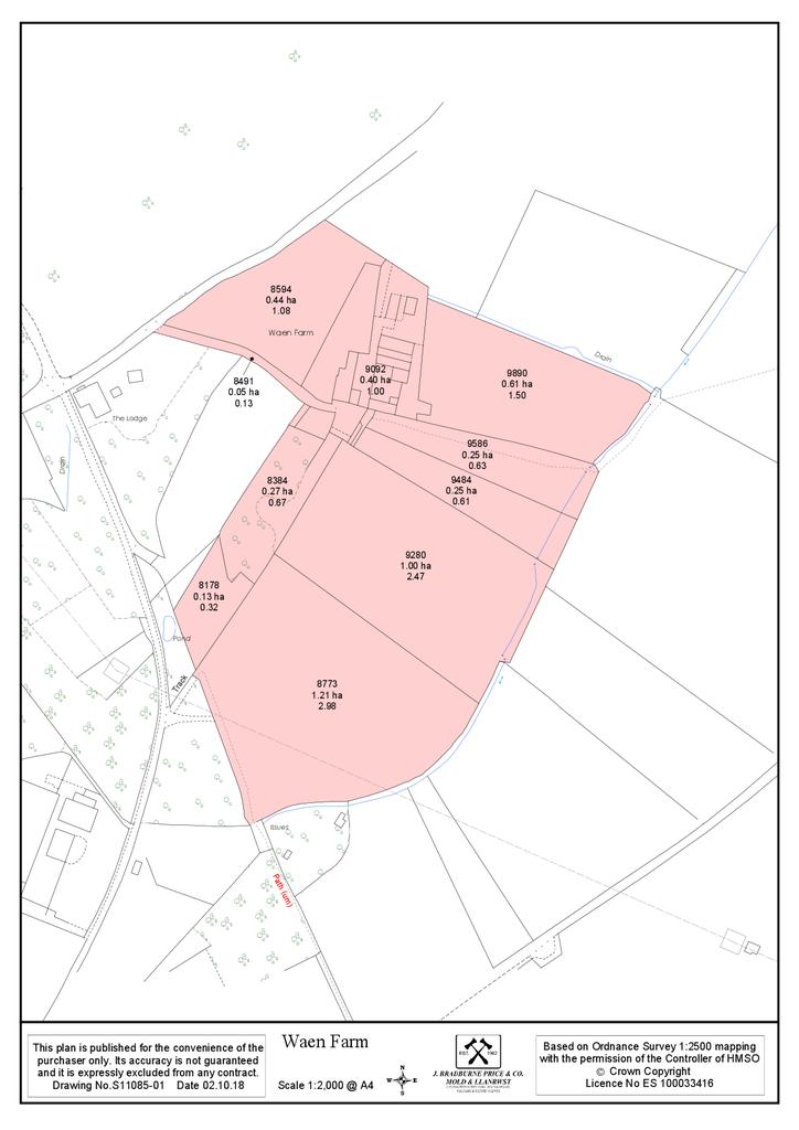 Floorplan 2 of 2: Land Plan
