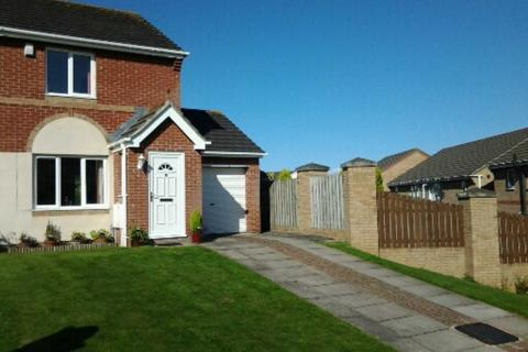 2 bedroom semi-detached house to rent - Spetchells, Prudhoe