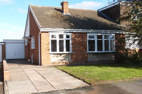 2 bedroom semi-detached bungalow to rent - Wellhouse Close, Wigston