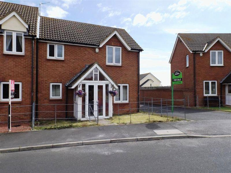 3 Bedrooms Semi Detached House for sale in Maple Drive, Widdrington, NE61 5PF