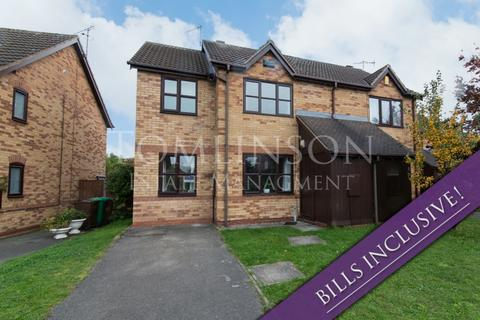 4 bedroom semi-detached house to rent - Heron Drive, Lenton, Nottingham