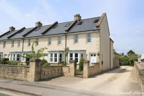 3 bedroom end of terrace house for sale - Church Road, Combe Down, Bath