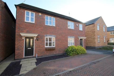 3 bedroom semi-detached house for sale - The Carabiniers, New Stoke Village, Coventry, CV3 1PW