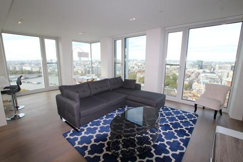 2 bedroom apartment to rent - Southbank Tower 55 Upper Ground SE1