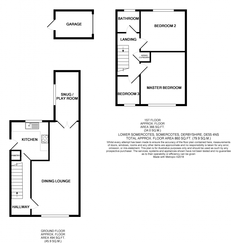 Floorplan: Lowersomercotes475