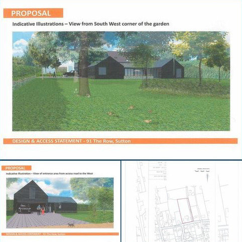 Land for sale - Rear of 91 The Row, Sutton, Cambs