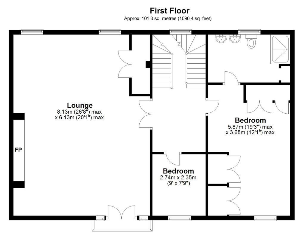 Floorplan 2 of 3: Town End Barn,...