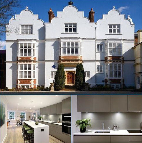 3 bedroom flat for sale - Flat 6, Eagle House, High Street, Wimbledon Village, London, SW19