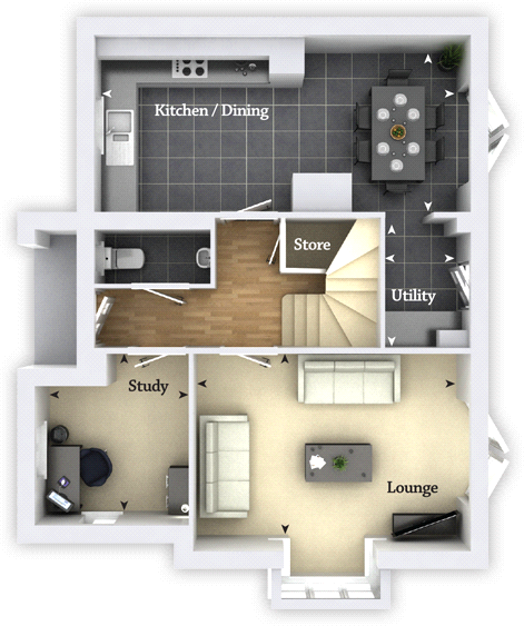 Floorplan 1 of 2: G/F Floorplan