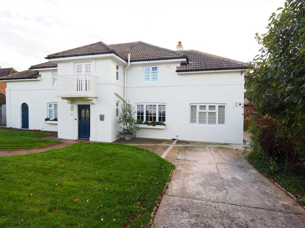 A Detached Five Bedroom Villa Style House Withious Accommodation Large South Facing Gardens And Separate Annexe