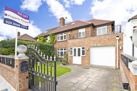 4 bedroom semi-detached house to rent - Burnell Avenue, Richmond, TW10