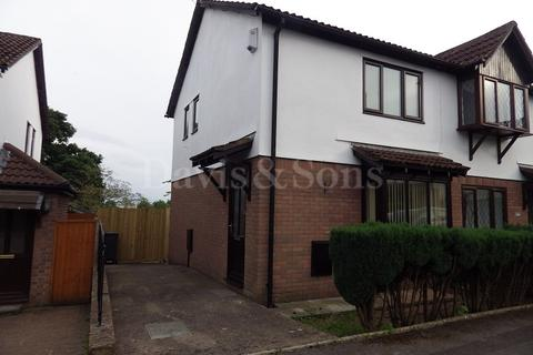 2 bedroom semi-detached house to rent - The Farthings , Pontprennau, Cardiff. CF23 8ET