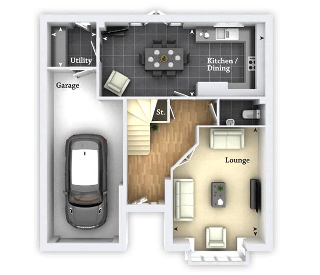 Floorplan 1 of 2: Floorplan G/F