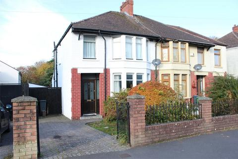 3 bedroom semi-detached house for sale - Fairways Crescent, Fairwater, Cardiff