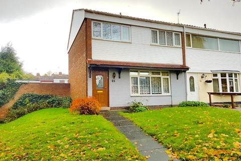 3 bedroom end of terrace house for sale - FARHILL CLOSE, WEST BROMWICH, WEST MIDLANDS, B71 3HA