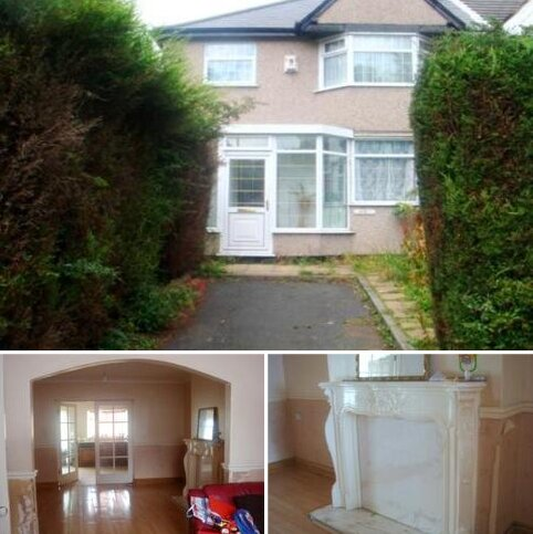 3 bedroom semi-detached house to rent - Kingsbury Road, Erdington