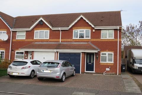 3 bedroom end of terrace house for sale - Sandhurst Close, East Hunsbury, Northampton, NN4