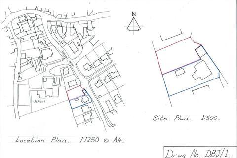 Plot for sale - School Hill, St. Keverne, Helston