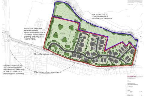 Residential development for sale - Residential Development Off Tenford Lane, Upper Tean