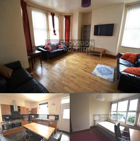 8 bedroom terraced house to rent - Hill Top Street, Hyde Park , Leeds  LS6