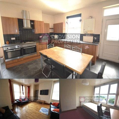 7 bedroom terraced house to rent - Hill Top Street , Hyde Park , Leeds LS6
