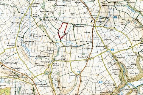 Land for sale - Land part of Panteinon, Cwm Cou, Newcastle Emlyn, Ceredigion