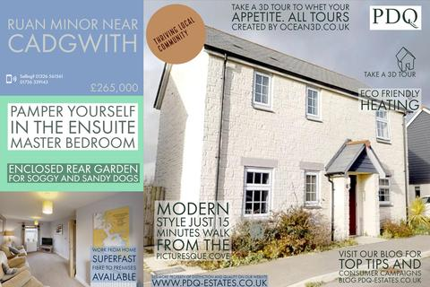 3 bedroom link detached house for sale - Higher Moor, Ruan Minor, Helston