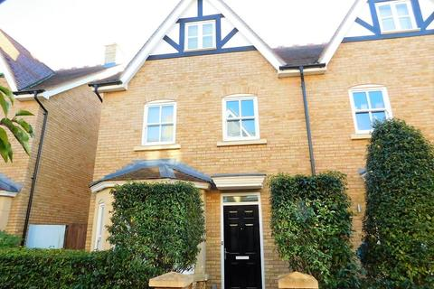 4 bedroom semi-detached house for sale - Brunel Walk, Fairfield, Hitchin, SG5 4GE