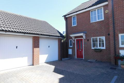 3 bedroom end of terrace house for sale - St. Johns Road, Arlesey, Beds, SG15 6ST