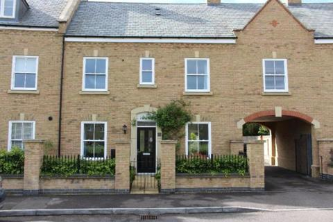 3 bedroom terraced house for sale - Charlotte Avenue, Fairfield, Hitchin SG5 4HF