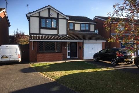 4 bedroom detached house for sale - Beaufort Way, Oadby, Leicester, LE2