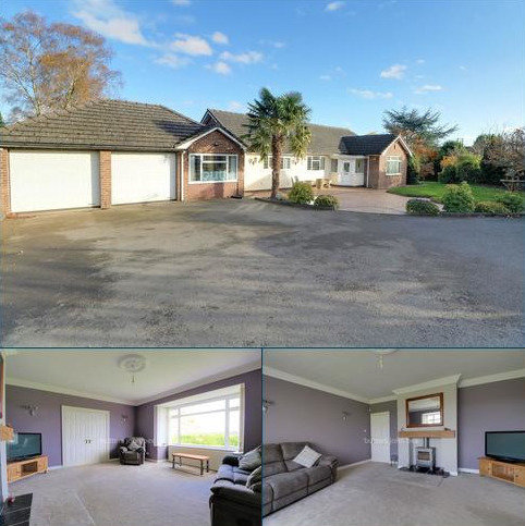 4 bedroom bungalow for sale - The Farm, Stone Road, Tittensor