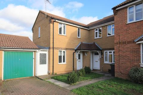 3 bedroom end of terrace house for sale - St Albans Close, Flitwick, MK45