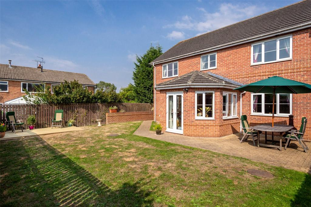 Linden Way Thorpe Willoughby Selby Yo8 4 Bed Detached