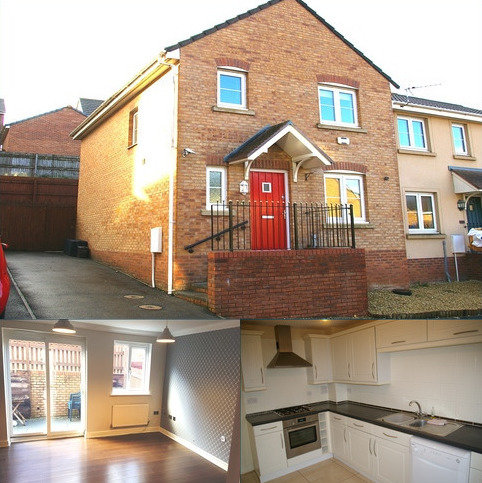 3 bedroom end of terrace house for sale - KINGFISHER ROAD, NORTH CORNELLY, BRIDGEND CF33