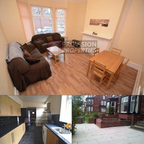 7 bedroom terraced house to rent - Chestnut Avenue, Hyde Park , Leeds LS6