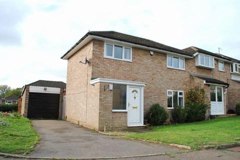 3 bedroom end of terrace house for sale - Grovebury Dell, Kingsthorpe, Northampton NN2 8QP