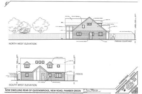 4 bedroom detached house for sale - Queensbridge, New Road, Pamber Green, Tadley, RG26