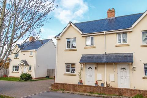 2 bedroom semi-detached house for sale - Chapel Close, Yeoford
