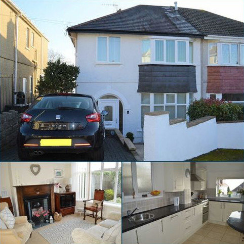 3 bedroom semi-detached house for sale - Pentyla Road, Swansea, SA2