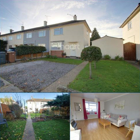 2 bedroom end of terrace house for sale - Delamere Road, Chelmsford