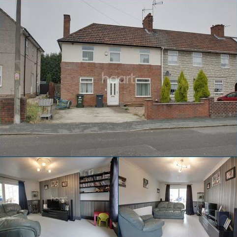 2 bedroom end of terrace house for sale - Nottingham