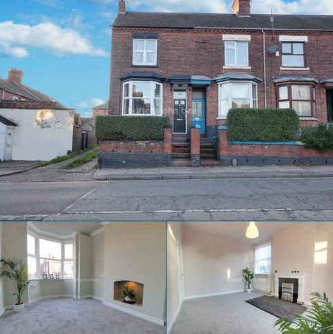 3 bedroom end of terrace house for sale - Victoria Street, Hartshill, Stoke-on-Trent