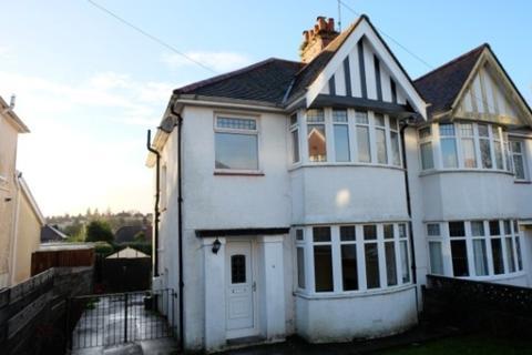 3 bedroom semi-detached house to rent - Raglan Road, Sketty, Swansea