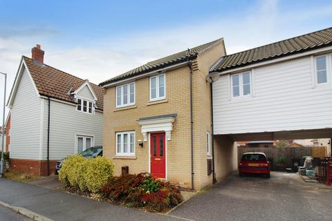 3 bedroom link detached house for sale - Dolphin Road, Costessey