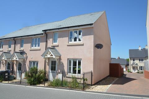 3 bedroom end of terrace house for sale - Carnac Drive, Dawlish